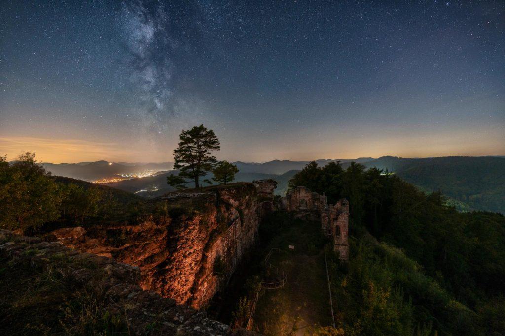 Fotograf des Universums Martin Koch Milchstrasse Burg Neuscharfeneck