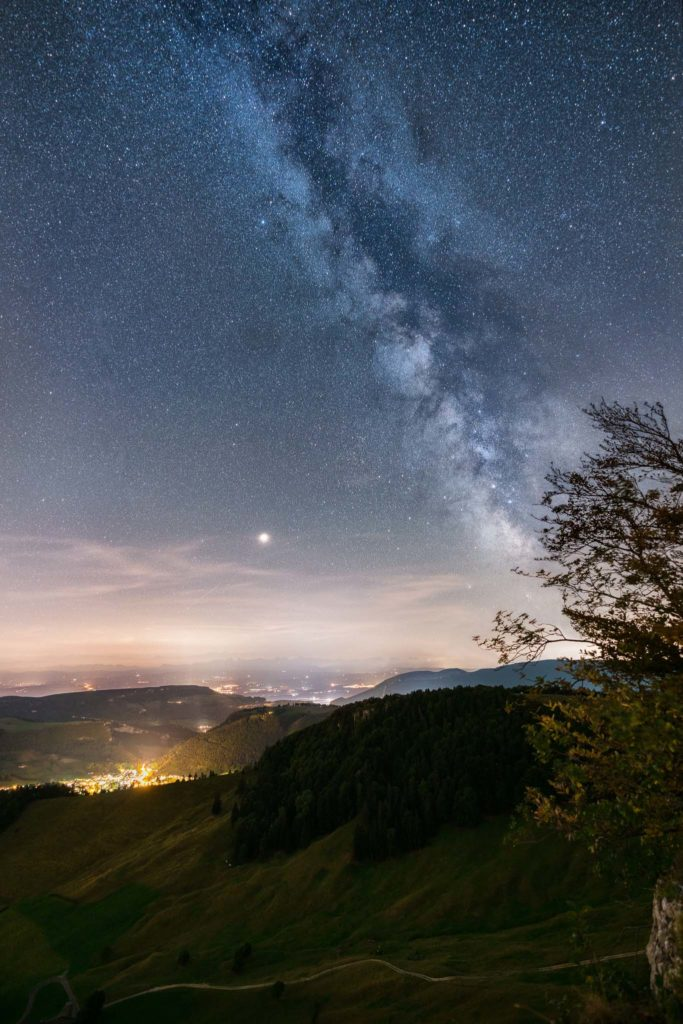 Fotograf des Universums Martin Koch Milchstrasse Vogelberg Schweiz