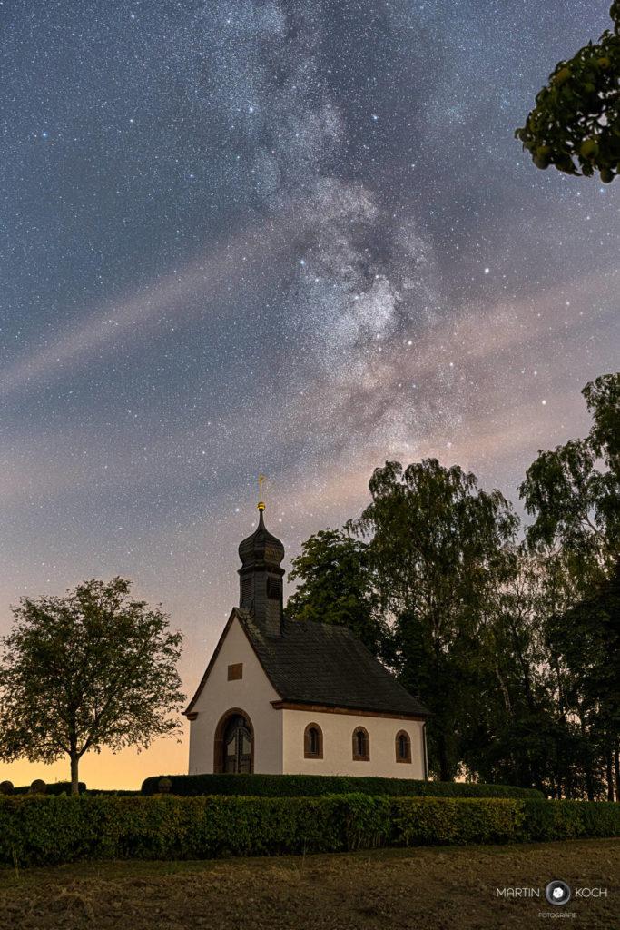 Fotograf des Universums Martin Koch Milchstrasse Kapelle Reifenberg